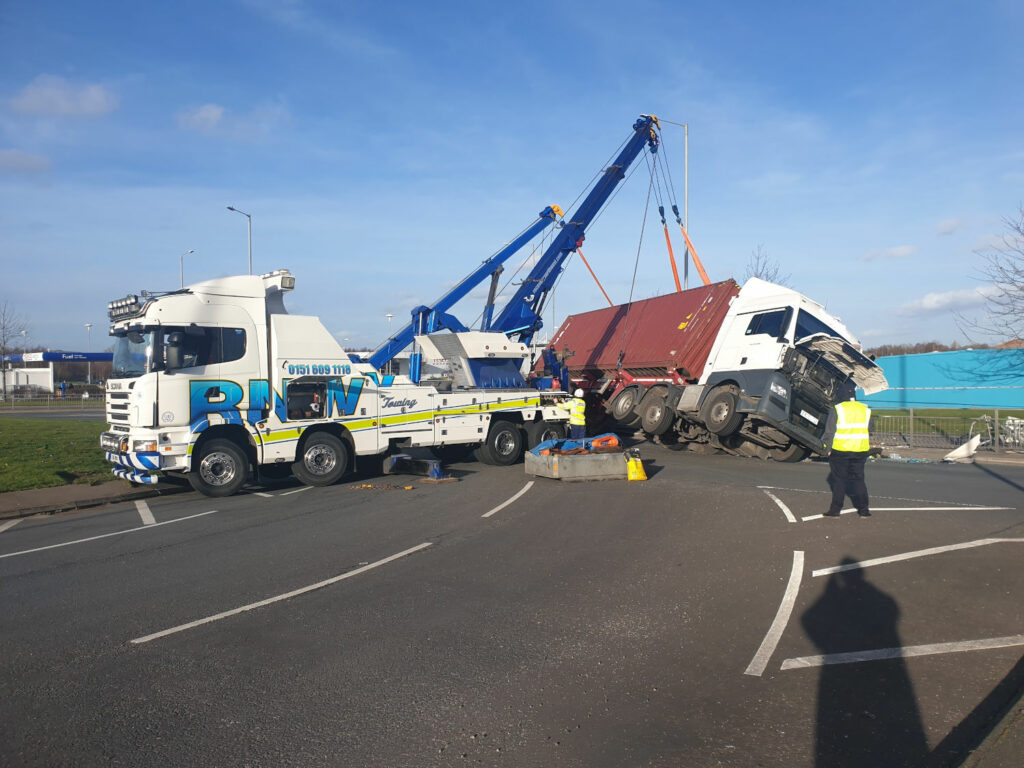 Heavy accident recovery